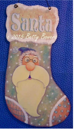 Santa Stocking - E-Packet - Betty Bowers
