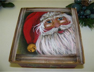 Santa Treasure Box - E-Packet - Donna Scully