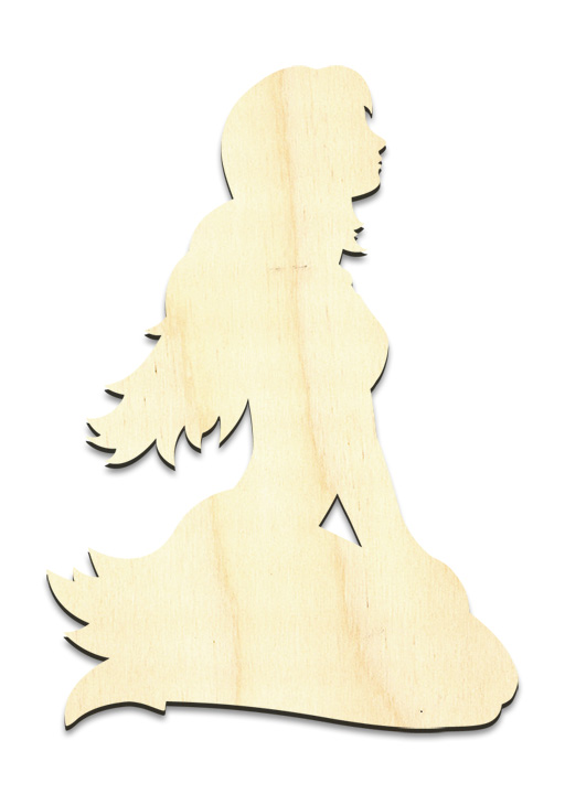 "Hopeful Fairy Figure Surface - Small - 3-1/4"" x 4-1/2"""
