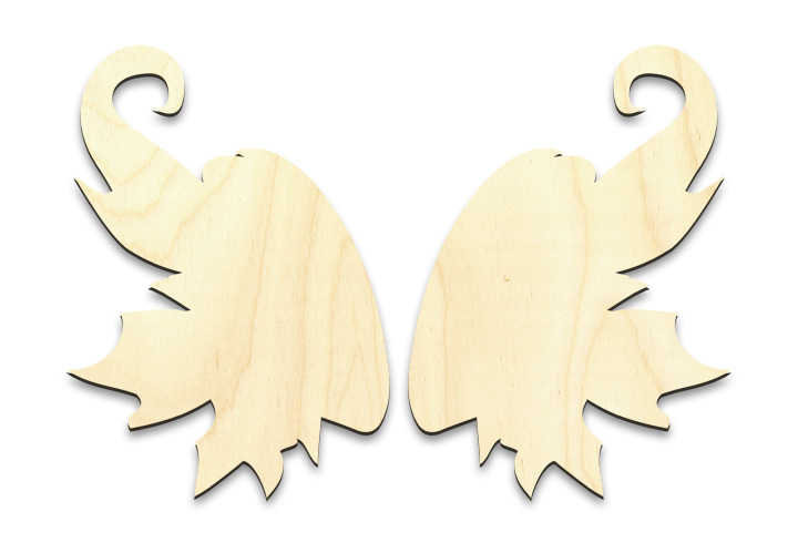 "Fantasy Fairy Wing Set - Small - 2-5/8"" x 3-3/4"" Each"