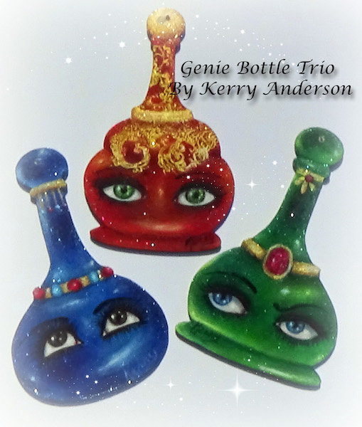 Genie Bottle Trio - E-Packet - Kerry Anderson