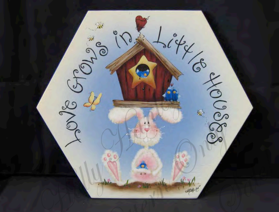 Little Houses Stepping Stone - E-Packet - Holly Hanley
