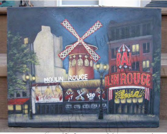 The Moulin Rouge - E-Packet - Holly Hanley