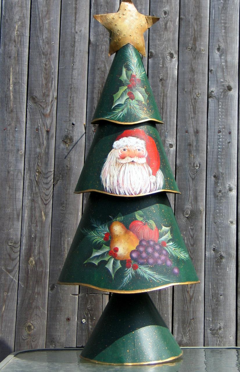 Holly Ho Ho Christmas Tree - E-Packet - Donna Scully