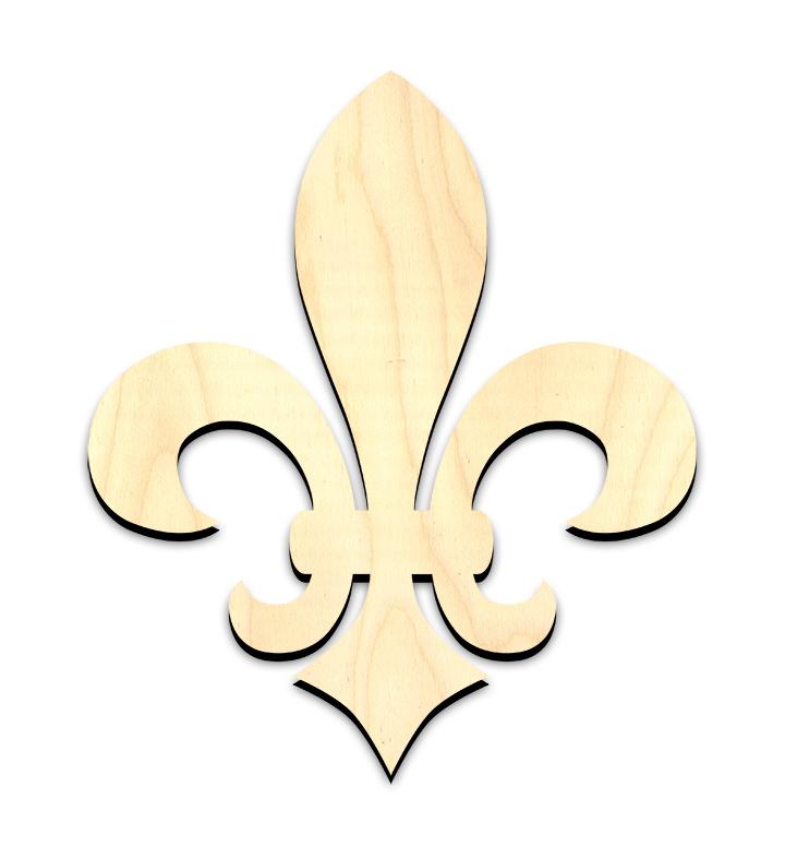 """Versailles Fleur De Lis Surface - Ornament - 5"""""""