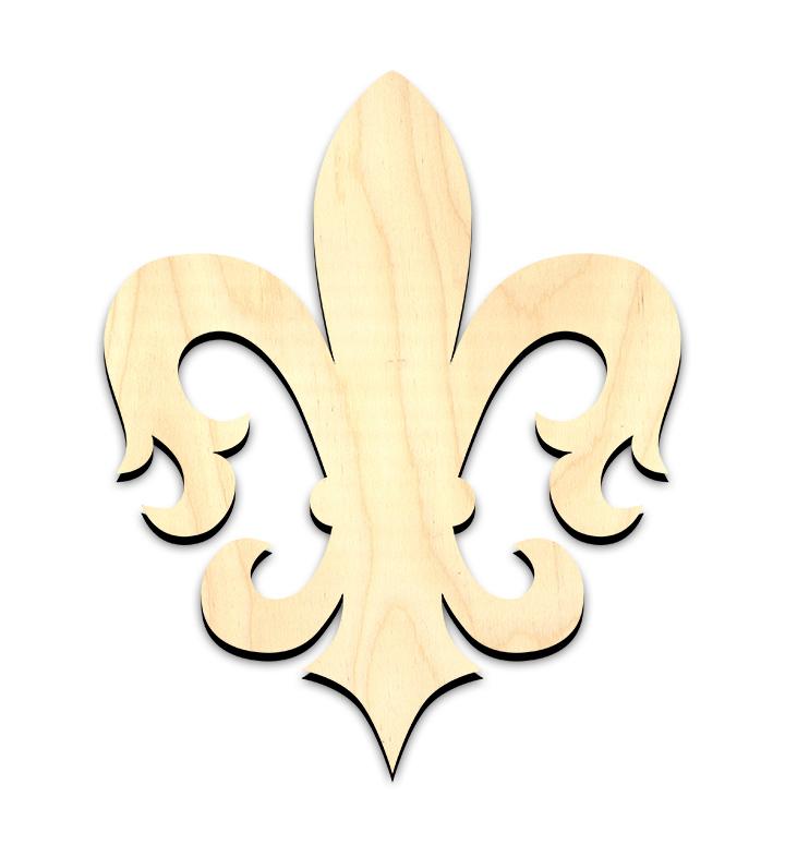 """Florentine Fleur De Lis Surface - Large - 12-1/2"""""""