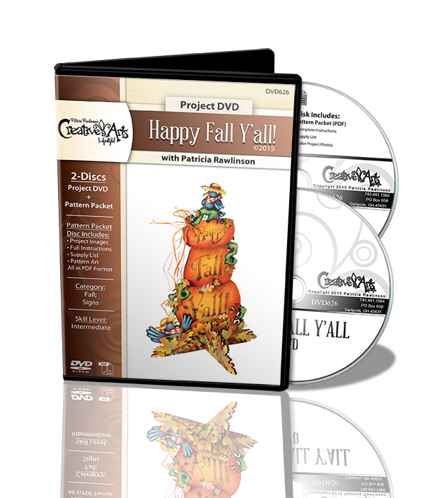 Happy Fall Y'all! DVD and Pattern Packet - Patricia Rawlinson