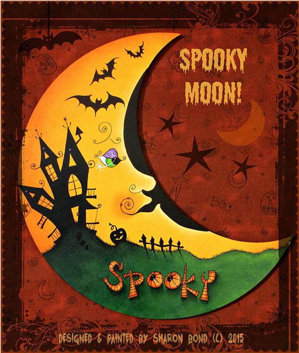 Spooky Moon - E-Packet - Sharon Bond