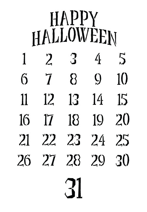 Halloween Countdown Deluxe DVD Project Set