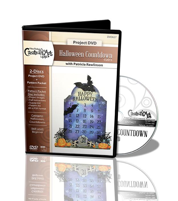 Halloween Countdown Deluxe DVD Project Set