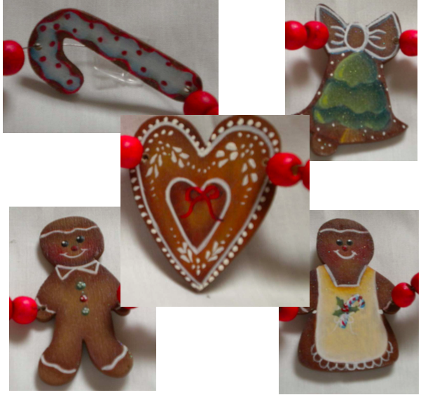 Christmas Tree Garland #2 - E-Packet - Ann Perz