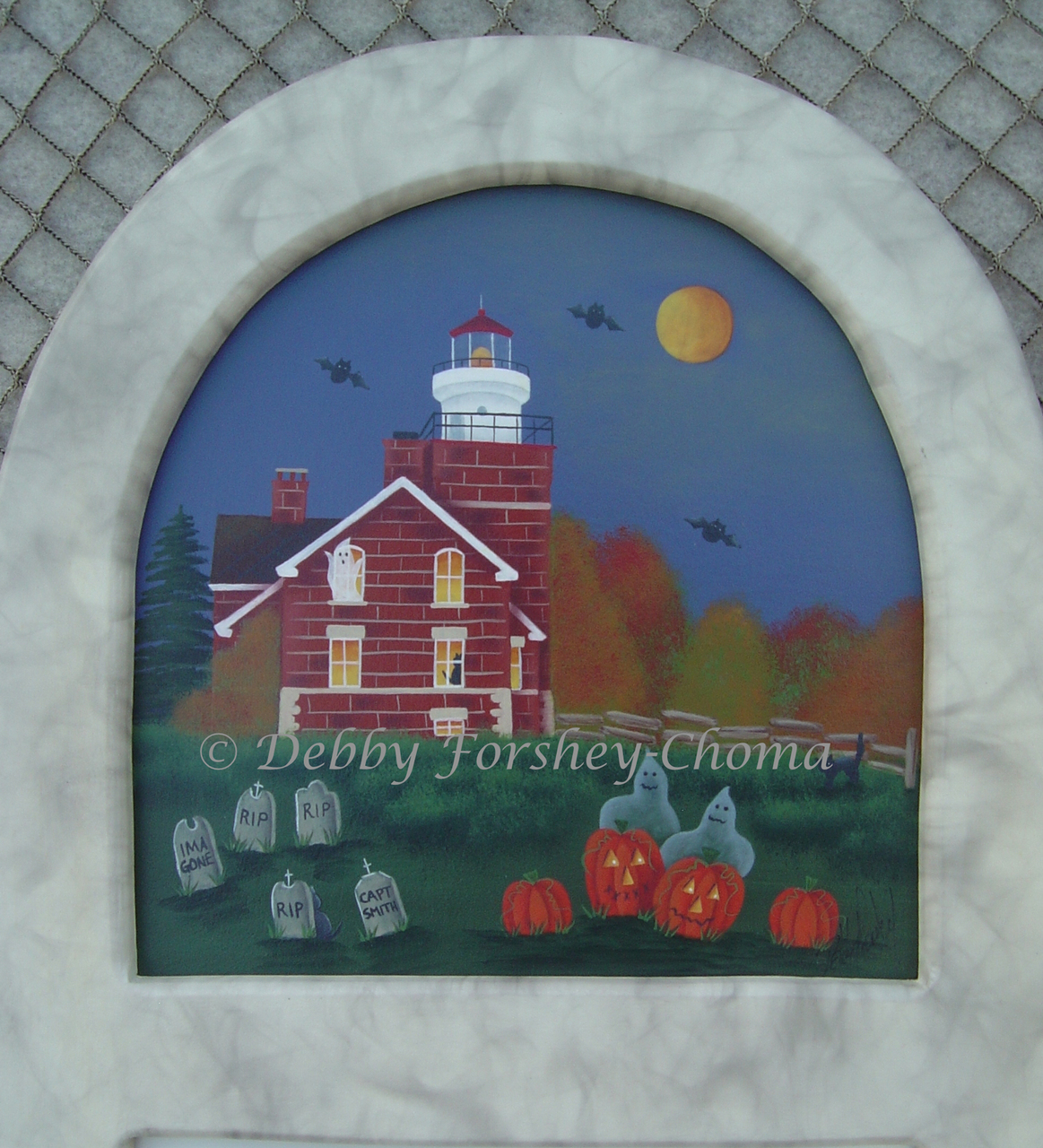 Haunting At Big Bay Lighthouse - E-Packet - Debby Forshey-Choma