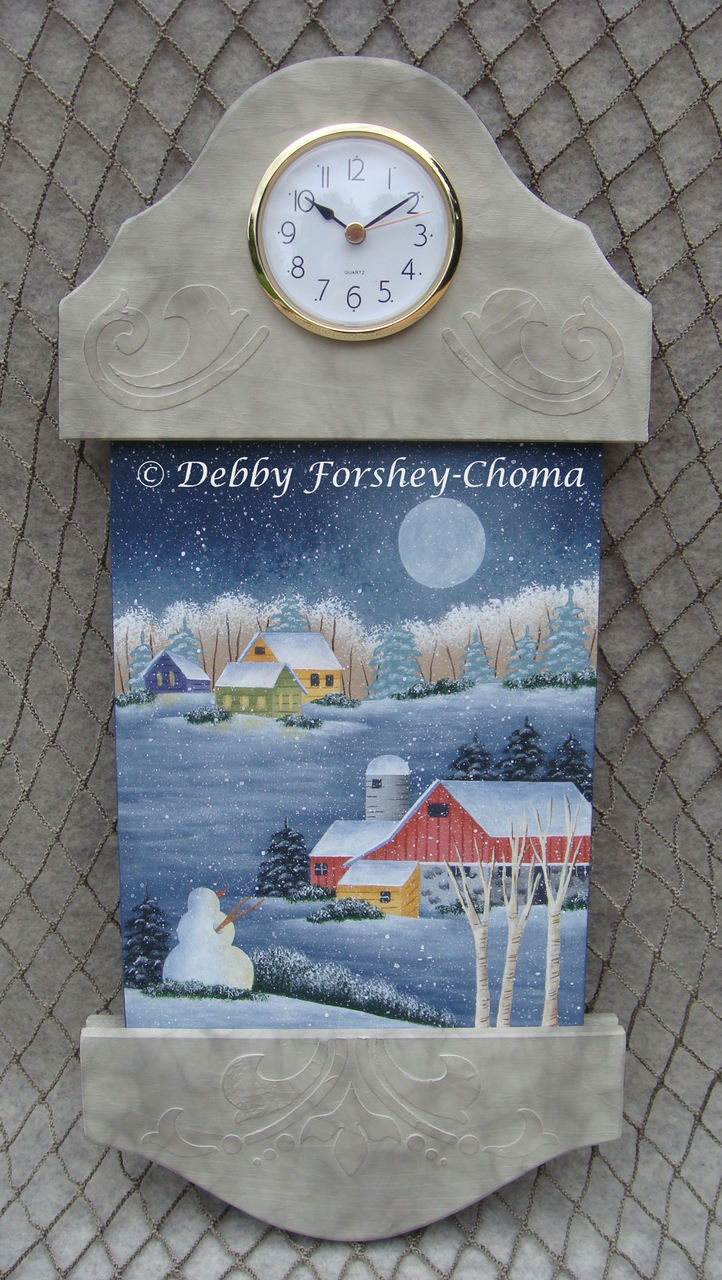 Scenic Winter - E-Packet - Debby Forshey-Choma