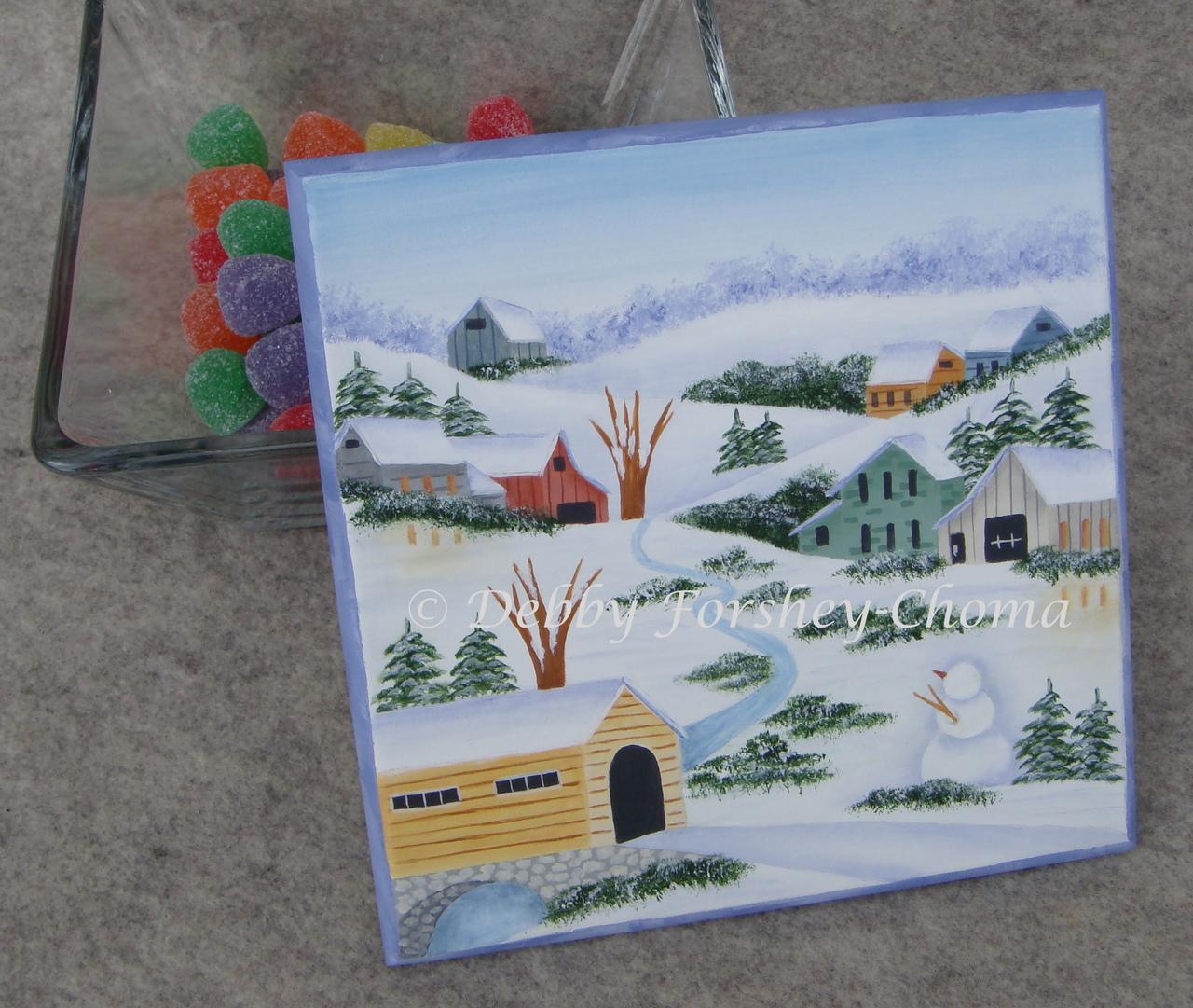 Snowman Treats - E-Packet - Debby Forshey-Choma