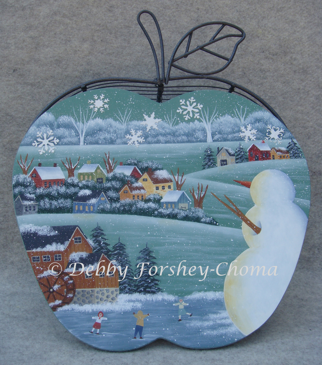 Watchful Snowman - E-Packet - Debby Forshey-Choma