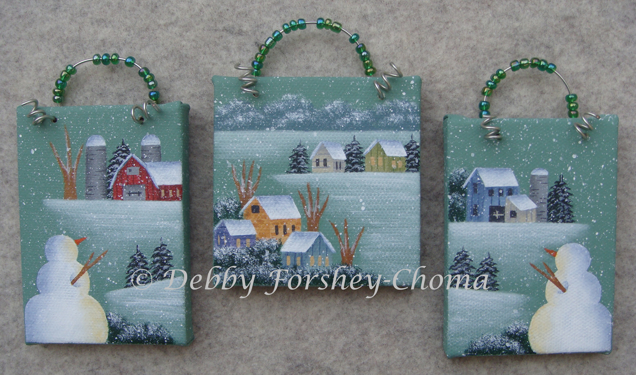 Winter Watchmen - E-Packet - Debby Forshey-Choma