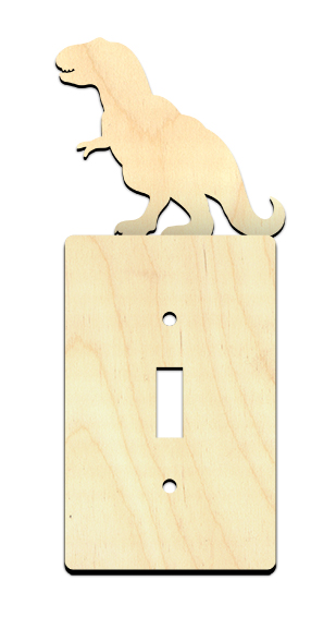 Dinosaur Light Switch Cover