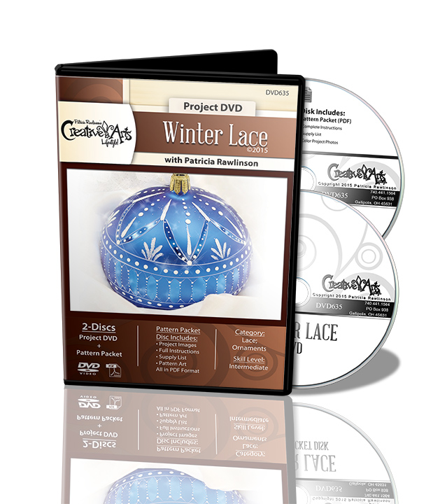 Winter Lace Ornament DVD and Pattern Packet - Patricia Rawlinson
