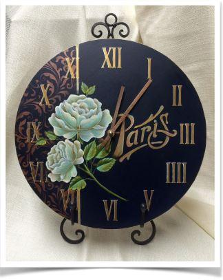 Paris Clock - E-Packet - Tracy Moreau