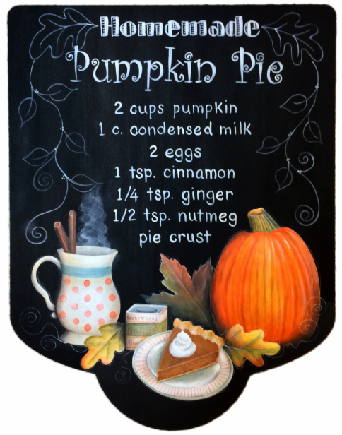 Homemade Pumpkin Pie - E-Packet - Sharon Chinn