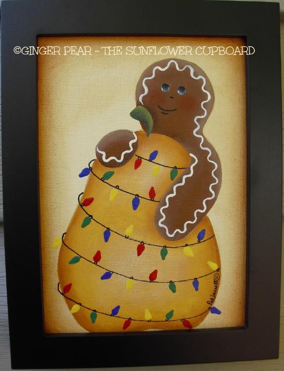 Ginger Pear - E-Packet - Pat Jarrett