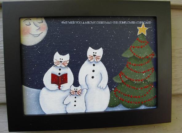 We Wish You a Meowy Christmas - E-Packet - Pat Jarrett