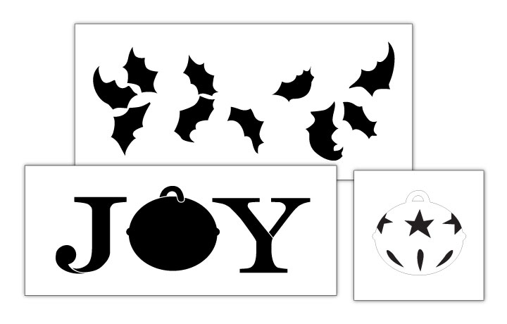 Country Joy Project Stencil Set