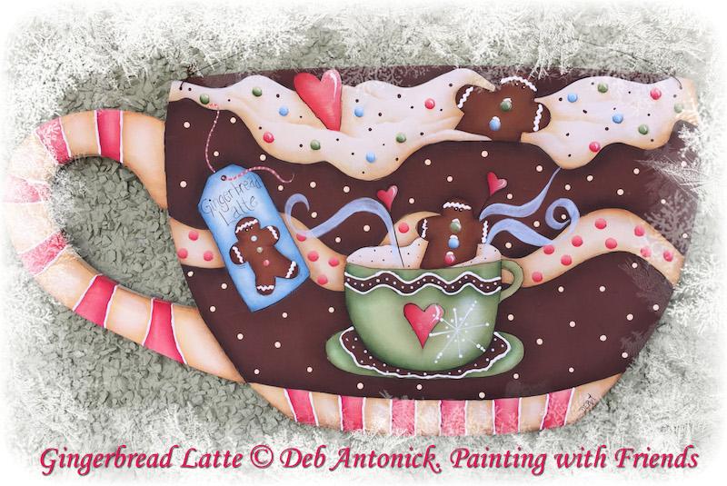Gingerbread Latte - E-Packet - Deb Antonick