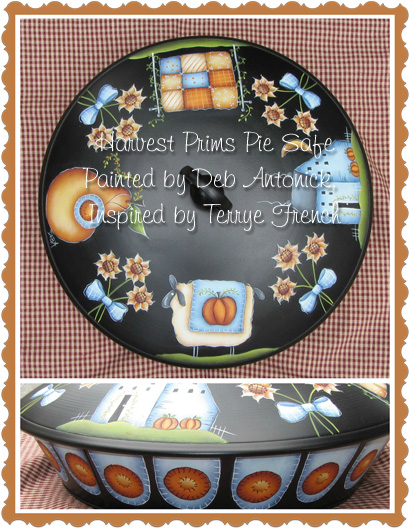 Harvest Prims Pie Safe - E-Packet - Deb Antonick