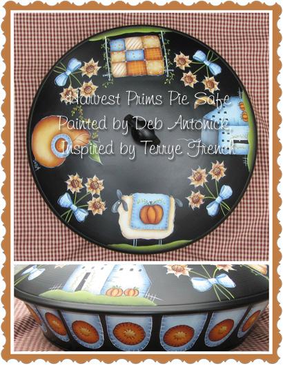 Harvest Prims Pie Safe - E-Packet - Deb Antonick