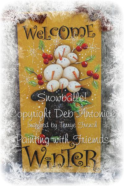 Snowballs - E-Packet - Deb Antonick