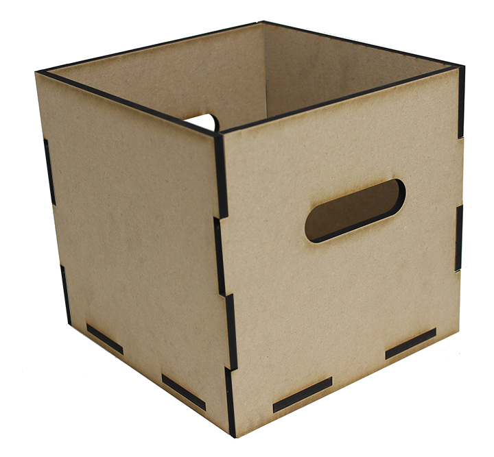 """Square Storage Tote - 8"""" X 8"""""""