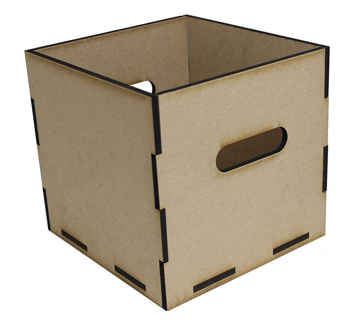"""Square Storage Tote - 9"""" X 9"""""""