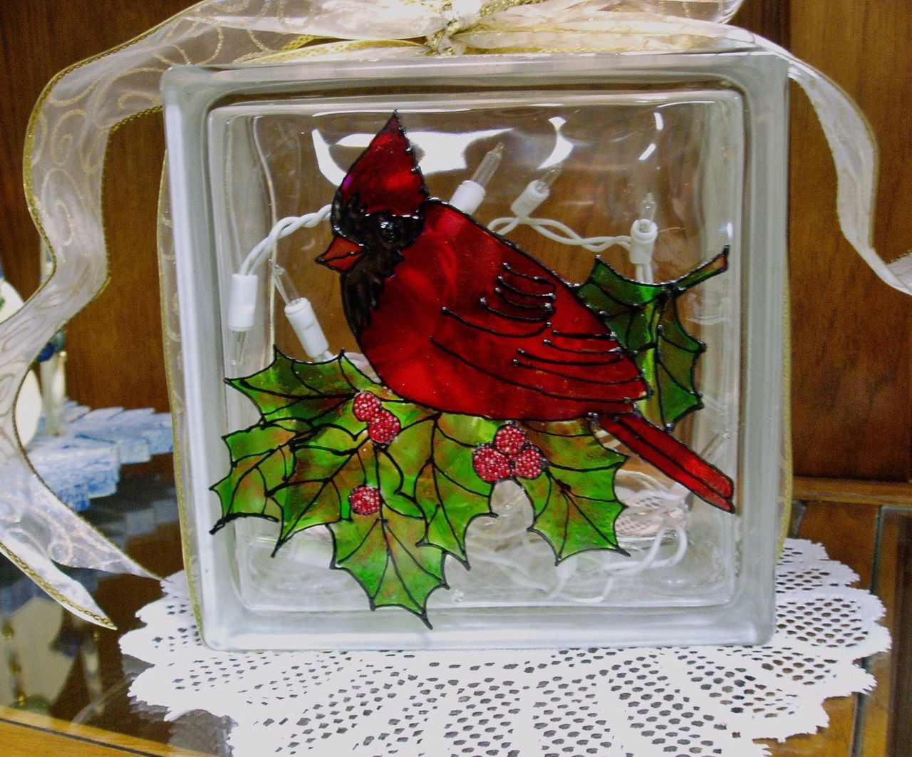 Cardinal Glass Block - E-Packet - Wendy Fahey