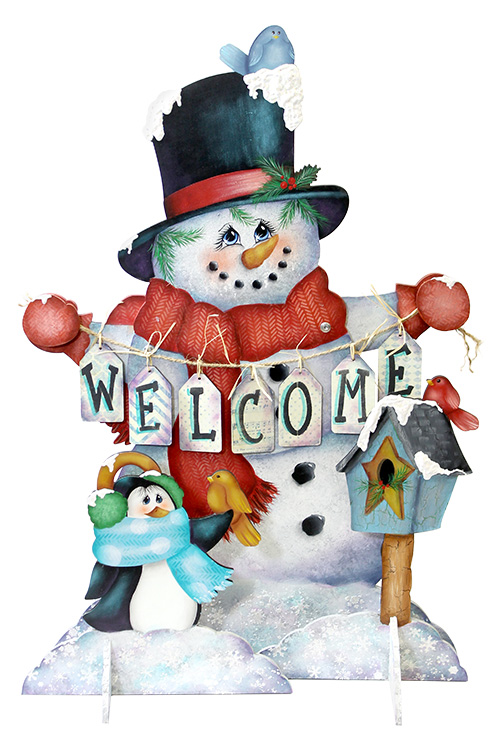 Snowman and Friends Pattern Packet - Patricia Rawlinson