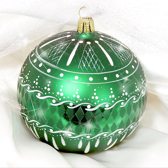 Emerald Lace Ornament Pattern Packet - Patricia Rawlinson