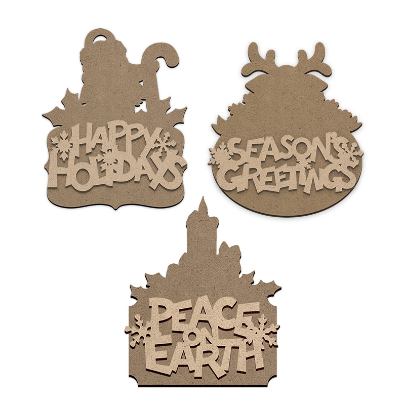 Christmas Wishes Ornament Surface Set