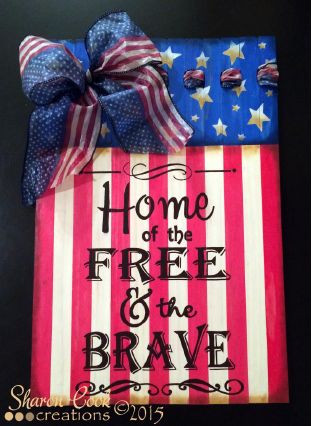 Home of the Free and the Brave - E-Packet - Sharon Cook