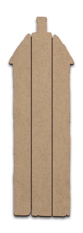 Rustic House Plaque - Medium