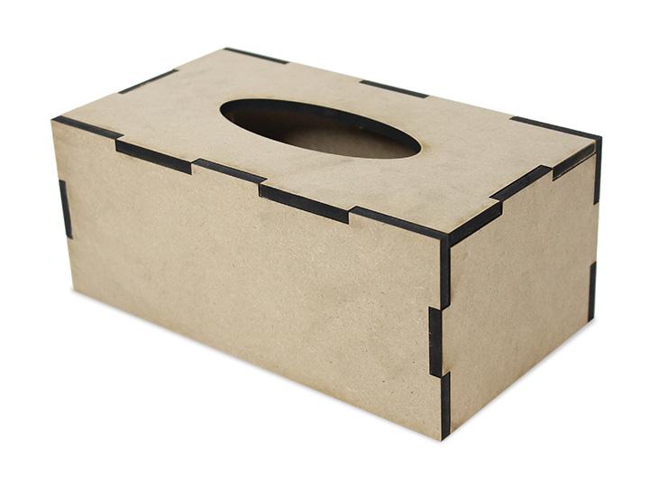 "Simple Rectangle Tissue Box - 10"" x 9-1/2"" x 4-1/8"""