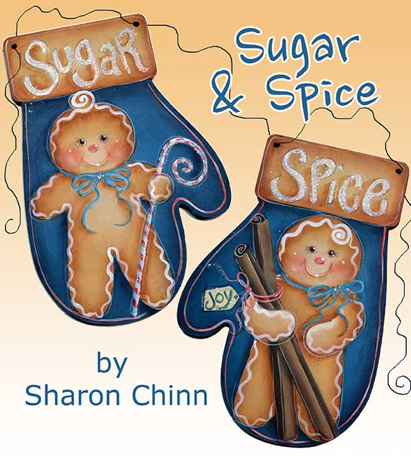 Sugar & Spice Mittens - E-Packet - Sharon Chinn