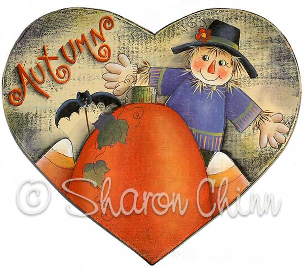 Scarecrow Sweetheart - E-Packet - Sharon Chinn