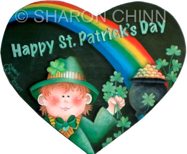 Leprechaun Heart - E-Packet - Sharon Chinn
