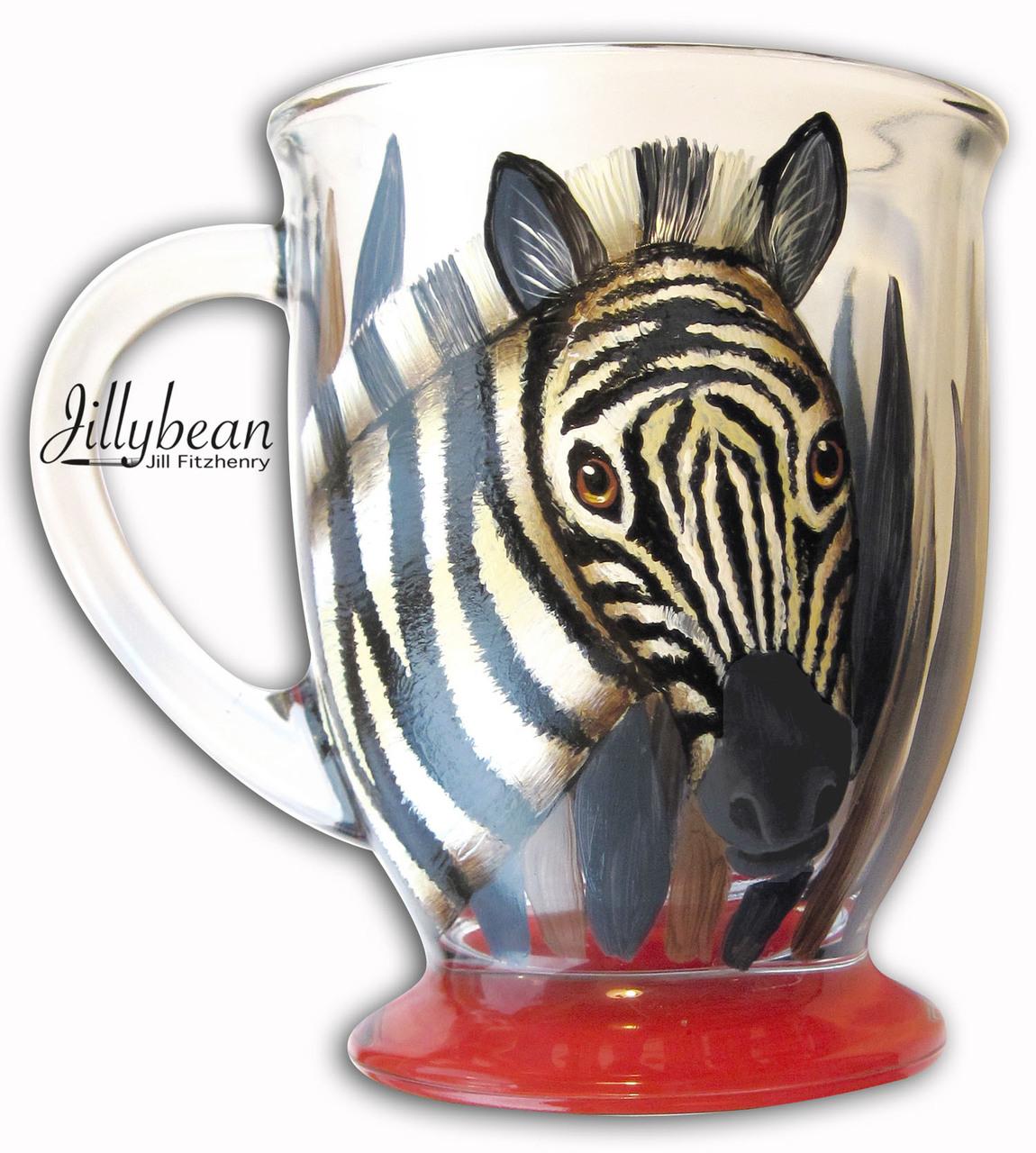 Zebra Glass - E-Packet - Jill Fitzhenry