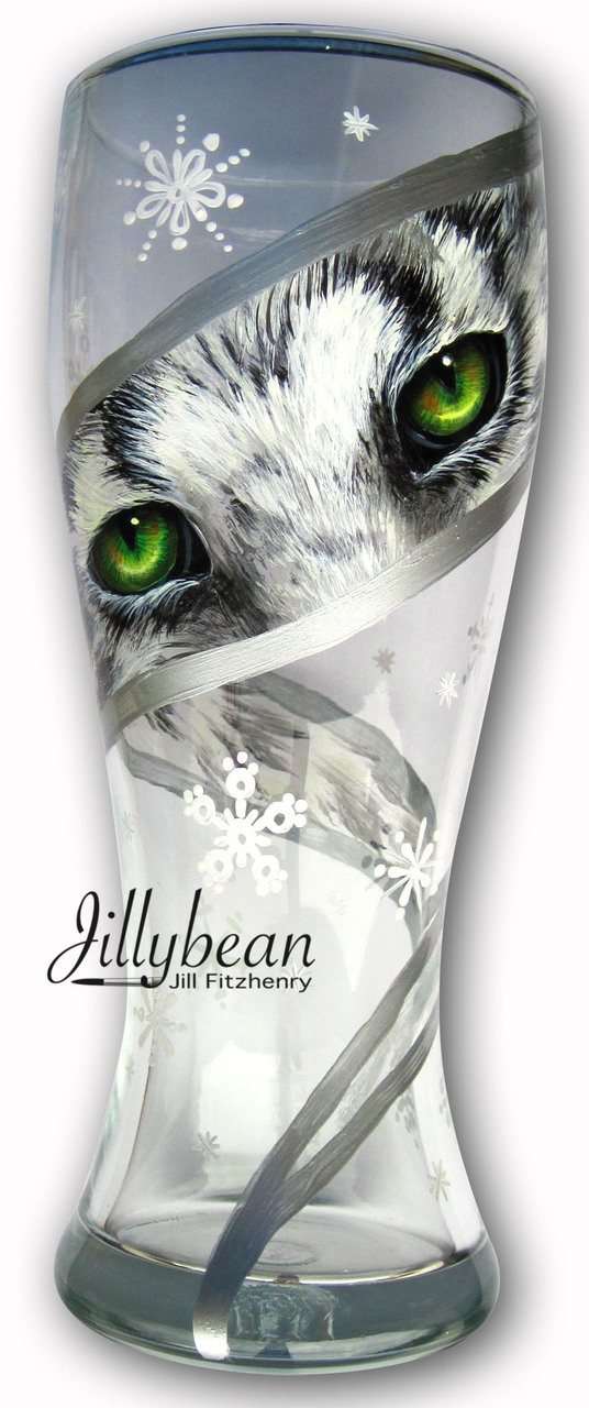 Snow Leopard Eyes - E-Packet - Jill Fitzhenry