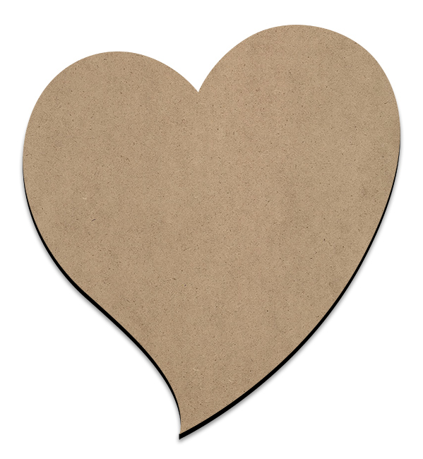 Whimsical Heart Plaque - XLarge