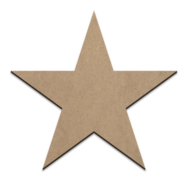 Country Star Plaque - Medium