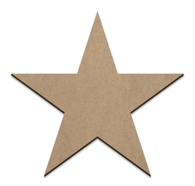 Country Star Plaque - XLarge