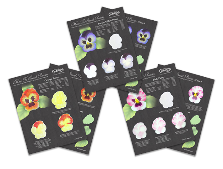 Easy Elegant Pansies Deluxe Set