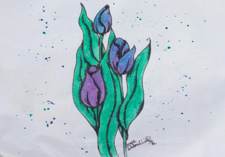 Tulip Tote - E-Packet - Debra Welty